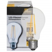 LED filament lamp 8W 1055 lumen E27 2700K