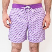 Mr.Swim Bumps Shorts Swimwear Purple MR-101-4