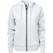 Printer Hooded Sweat Vest Overhead Lady 2262052 Wit - Maat XXL