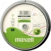 DVD+R DL MAXELL, 8.5 GB, 8x, Printable, 25 бр. - ML-DDVD+R-DL-25PK-PRINT