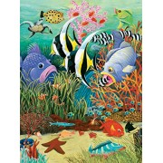White Mountain Puzzles Fish in the Sea - 300 Piece Jigsaw Puzzle