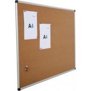 Panou afisaj pluta Rocada RD6204, rama din aluminiu anodizat, 120 x 90 cm