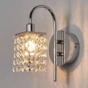 Eglo Bonita lámpara de pared LED Almonte cristal, IP44