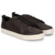 Carlton London Mr.CL Sneakers(Black, White)