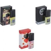 Skyedventures Set of 3 Devdas-Kabra Black-Younge Heart Red Perfume