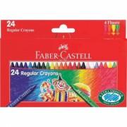 Creioane Cerate Clown 24 culori Faber-Castell