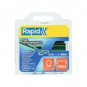 Capse gard Rapid HOG VR22 5 11mm plastifiate verde 215 buc blister