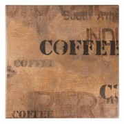 Werzalit plus Werzalit Pre-drilled Square Table Top Coffee Sack 600mm