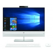 "PC HP Pavilion Rado 238I, 23.8"" 1920x1080, bijela, Intel Core i7 8700T 2.4GHz, 2TB HDD, 128GB SSD, 16GB, Intel UHD 630, Windows 10 Home, AiO, 12mj, Tipk., Miš, 5GS58EA"