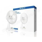 Valueline VL-FN12 Ventilateur de table Blanc, 190 x 375 x 345 mm