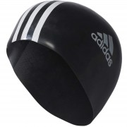 Casca Inot unisex adidas Performance Silicone 3 stripes swim cap 802310