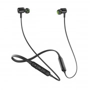 Neckband Wireless Bluetooth 4.2 Headphone Sports Sport Running Magnetic In Ear Earbuds - Black