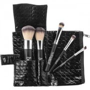 Bellápierre Cosmetics Make-up Brochas Travel Brush Set Foundation Powder Brush + Angled Blush Brush + Concealer Brush + Liner/Brow Brush + Eyeshadow Brush 1 Stk.