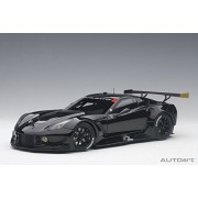 Chevy Corvette C7 R, Black - AutoArt 81651-1/18 Scale Collectible Diecast Vehicle Replica