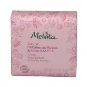 Melvita Savon Rose et Miel d'Acacia Bio 100 g 3284410040512