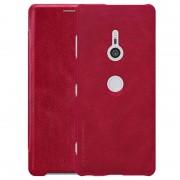 Capa Flip Nillkin Qin para Sony Xperia XZ3 - Vermelho