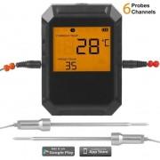"""Denna findesignade digitala termometer med två sensorer är """"ett måste"""" för varje grillmästare!"""