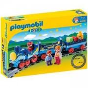 Комплект Плеймобил 6880 - Нощен влак с релси, Night Train with Track, Playmobil, 291327