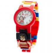 Lego Reloj de pulsera con Minifigura de Wonder Woman - Lego DC Comics Super Heroes