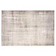 Alfombra gris claro acrílico y algodón 155x230 USED - Miliboo