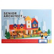 Grab Offers Smart Blocks Senior Architect- Interlocking Architectural Set For Kids.(Multicolor)
