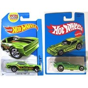 FORD Mustang Funny Car & '77 Plymouth Arrow Heritage Blue Card Series Hot Wheels Fast car muscle Set Green in PROTECTIVE CASES