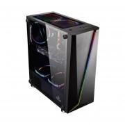 Gabinete YeYian ARMAGEDDON 2200 3 Ventiladores LED RGB Vidrio Templado YGA-68809