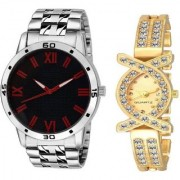 TRUE CHOICE NEW FASHION NEW SMART N GOOD LOOK COUPLE WATCHES WITH 6 MONTH WARRANTY