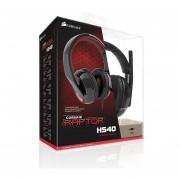 Diadema Corsair Raptor HS40 USB 7.1 Noise Cancelling Gamer (CA-9011122-NA)-Negro
