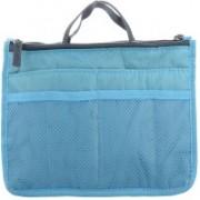 ShopAis MultiPocket Hand Bag Storage Organizer Stylish Trendy(Blue)