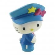 Comansi speelfiguur Hello Kitty: Police 6 cm wit