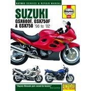 Haynes Suzuki GSX600 / 750F et GSX750 (98-03) 3987