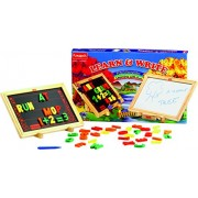 Funskool Learn & Write 2 in 1 Magnetic & Writing Board Multi Color (board for learning with fun)