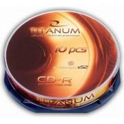 Medii de stocare esperanza CD-R TITANUM 700MB / 80min Cake-Box 10 52X