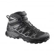 Salomon Shoes X Ultra Mid 2 GTX Black Aluminium UK 7.5