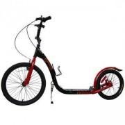 Тротинетка с надуваеми колела 20-16 - червена, MASTER, MAS-S020black-red