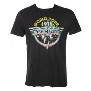 Muška metal majica Van Halen - World Tour 78 - AMPLIFIED - ZAV210VHC