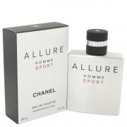 Allure Sport Eau De Toilette Spray By Chanel 3.4 oz Eau De Toilette Spray