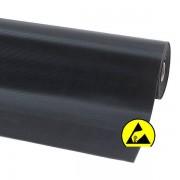 Notrax Naturgummimatte, ESD - LxB 1500 x 1200 mm - schwarz