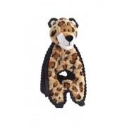 Charming Pet Cuddle Tugs Pet Squeak Toy, Leopard