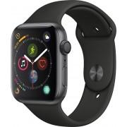 Apple Watch Series 4 40mm vesmírně šedý hliník s černým sportovním řemínkem
