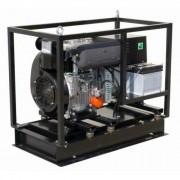 AGT 12001 LSDE Generator electric diesel , motor Lombardini , putere 12 kVA , tip motor 12 LD 477-2 cilindri
