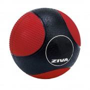 Medicine Ball Doble Textura 5 Kg Ziva Goma Virgen