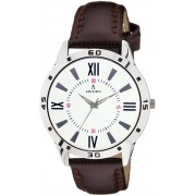 ADIXION 9519SLW002 New Stainless Steel watch with Genuine Leather Strep Watch - For Men