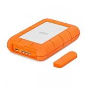 LaCie Rugged RAID Pro tragbare externe Festplatte 4TB 2.5 Zoll USB-C für Mac & PC Orange