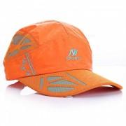 Unisex al aire libre General Casual sombrero de sol transpirable - naranja