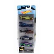 Set 5 masinute Hot Wheels Batman