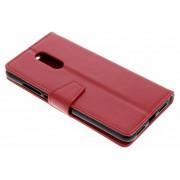 Rode Zakelijke Booklet voor de Xiaomi Redmi 5