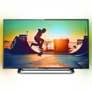 Телевизор Philips 43 UHD, DVB-T2/C/S2, Smart Linux, Ambilight 2, HDR+, Pixel Plus UHD, 900 PPI, Dual core procesor, 43PUS6262/12