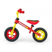 Rowerek biegowy Dragon Air ?ó?to-czerwony + EKSPRESOWA WYSY?KA W 24H